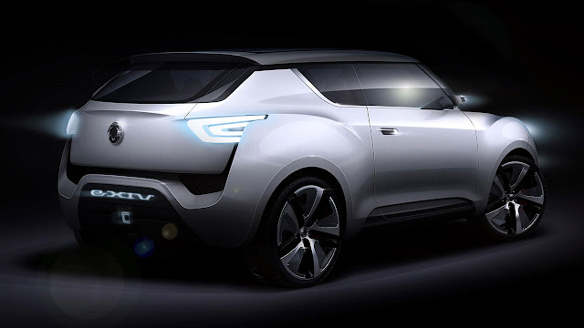 e-XIV Concept by SsangYong back