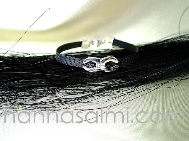 horsehair bracelet nanna salmi