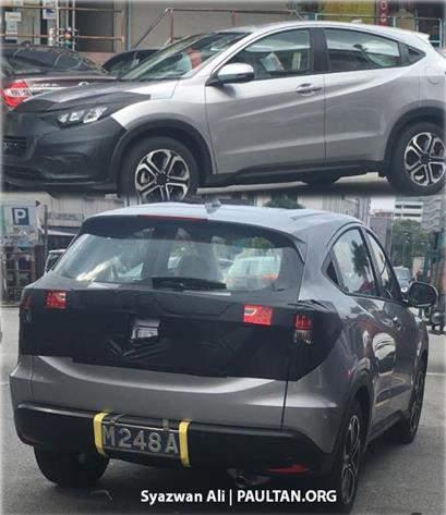Honda_HRV_Facelift_2018