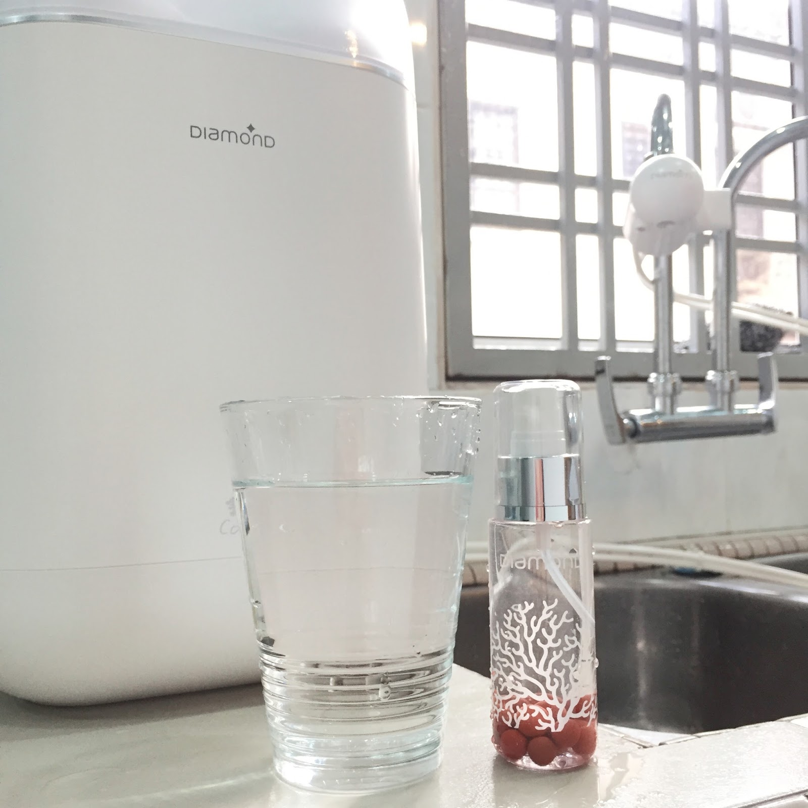 Diamond 珊瑚堿性水 Coral Alkaline Water™ —— 內外兼備高顏值的凈水機 X Diamond Coral Waterbar —— 1秒就愛上3秒即暖飲水機 ...