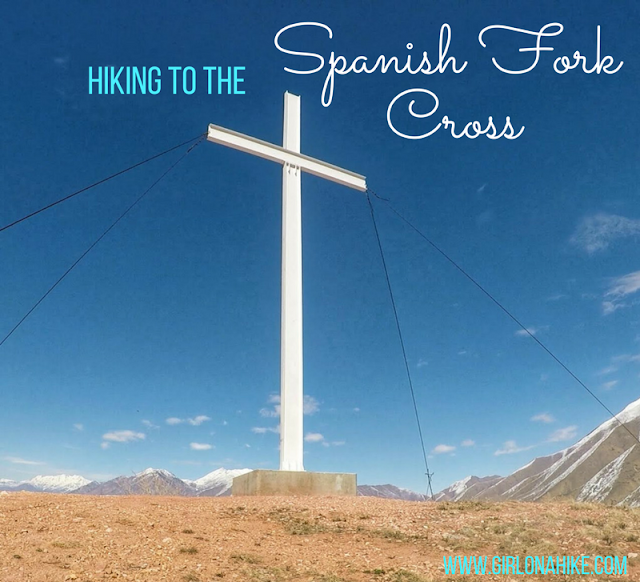 Hiking to the Spanish Fork Cross, Spanish Fork Utah