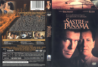 Carátula dvd: El sastre de Panamá (2001) The Tailor of Panama