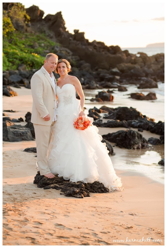 Miranda Amp Rob S Maui Wedding At Southside Beach