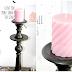 Kącik ze świeczkami - dekoracje.