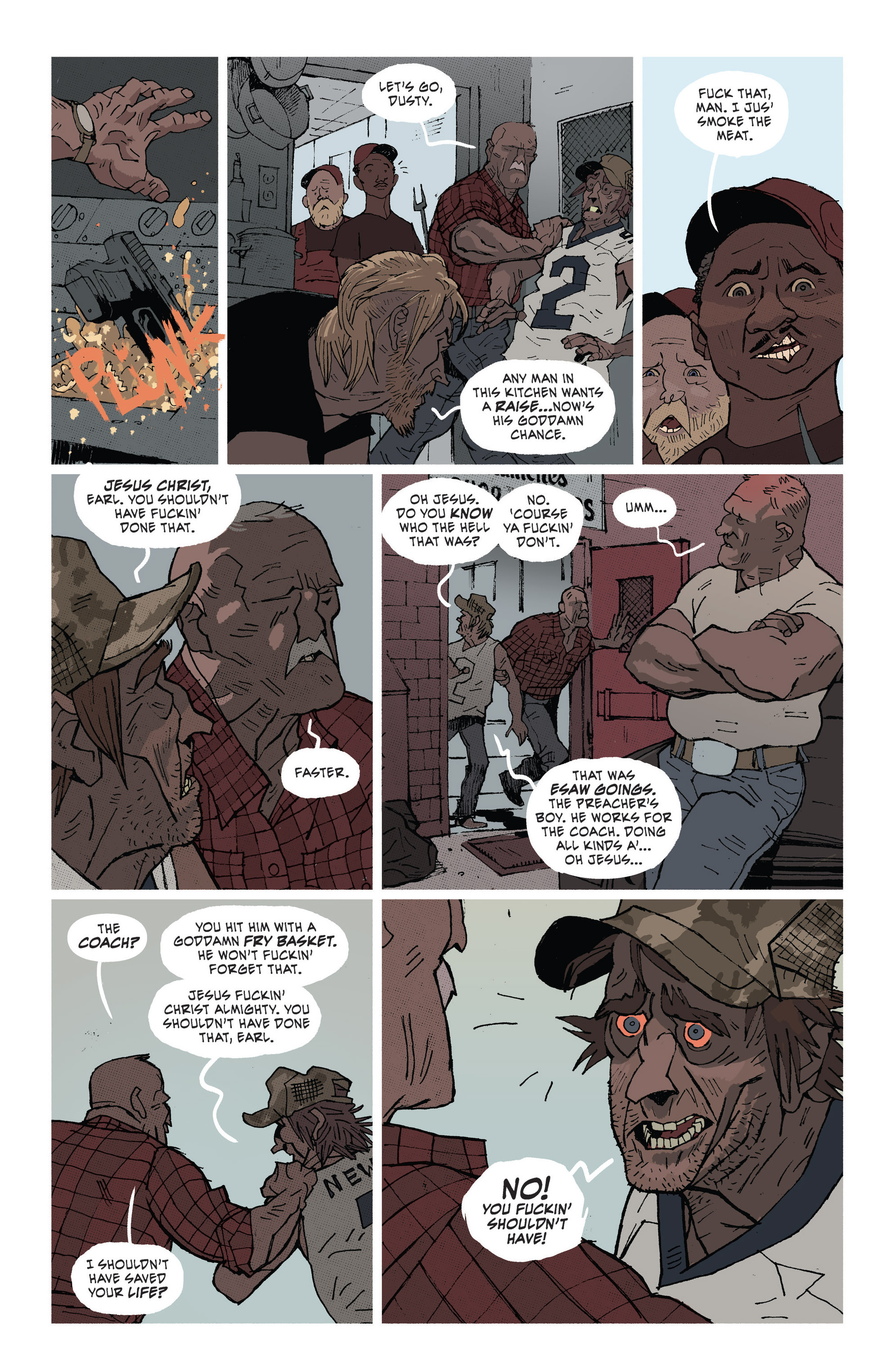 Read online Southern Bastards comic -  Issue #1 - 19