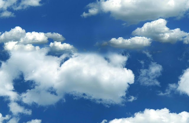 Blue love in the sky wallpaper, love wallpapers free