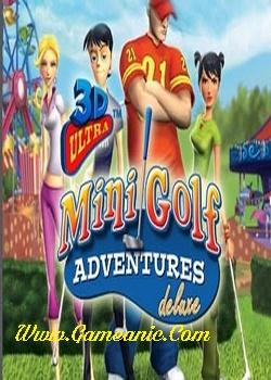 3D Ultra Minigolf Adventures Game Cover