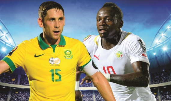 South Africa's Road to Russia continues with a clash against Senegal at the new Peter Mokaba Stadium.