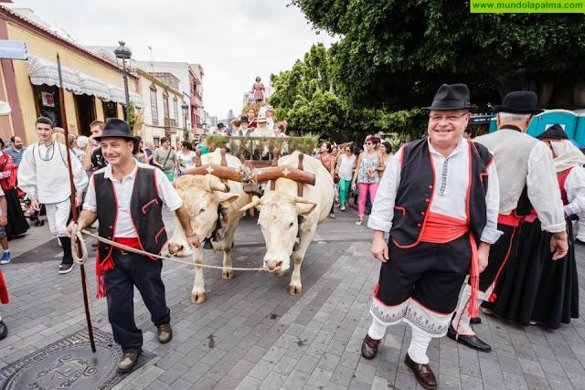 Los Llanos celebra a lo grande su tradicional romería de las Fiestas Patronales