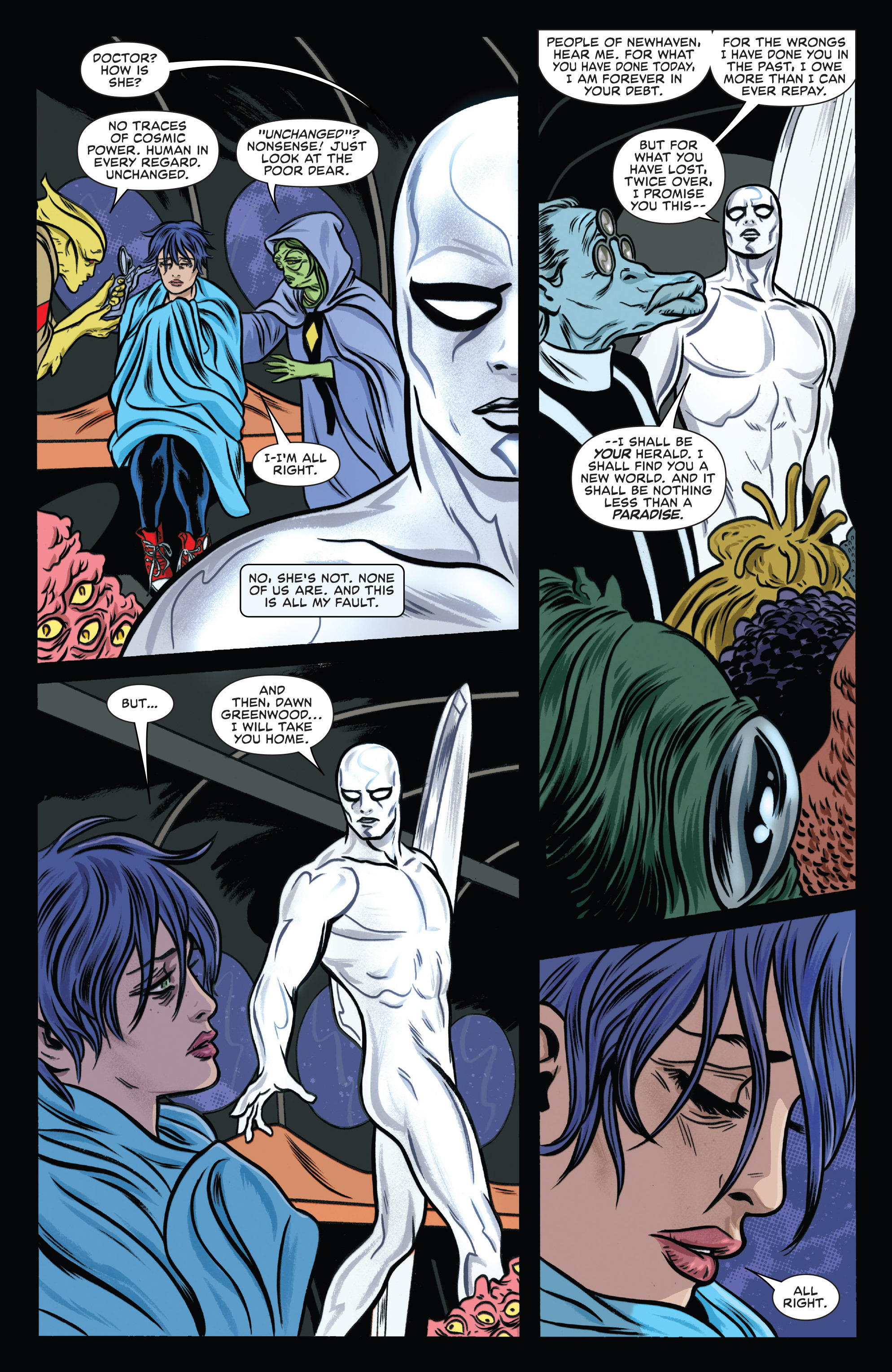 Read online Silver Surfer (2014) comic -  Issue #10 - 19