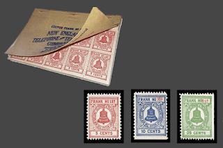Folleto de Sellos postales