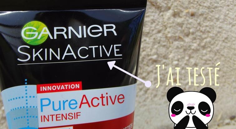 Garnier SkinActive PureActive Intensif Charbon Végétal