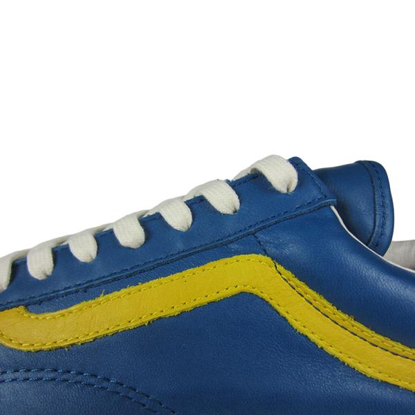 19224cf38f2f Vans Vault OG Style 36 LX. (Premium Leather) Moroccan Blue Ceylon Yellow.  VN000SF5FKK