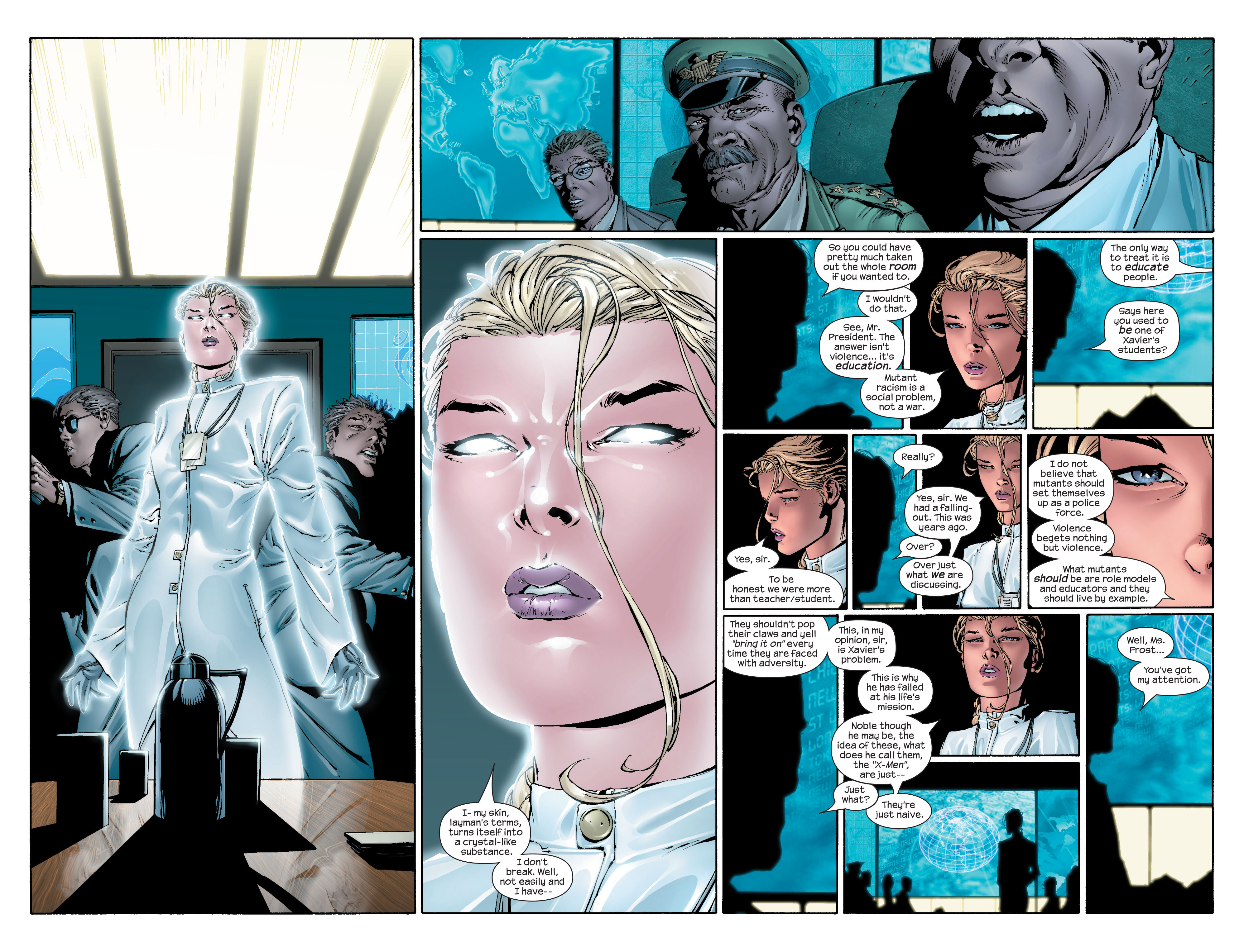 Read online Ultimate X-Men comic -  Issue #43 - 8