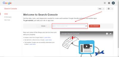 cara daftar search console