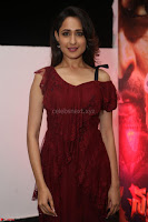 Pragya Jaiswal in Stunnign Deep neck Designer Maroon Dress at Nakshatram music launch ~ CelebesNext Celebrities Galleries 021.JPG