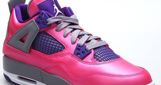 0a59d7a47a0f ajordanxi Your  1 Source For Sneaker Release Dates  Girl s Air Jordan 4  Retro GS Pink Foil White-Cement Grey-Electric Purple August 2013