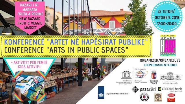 Konferenca e parë Ndërkombëtare në Shqipëri rreth Arteve Publike