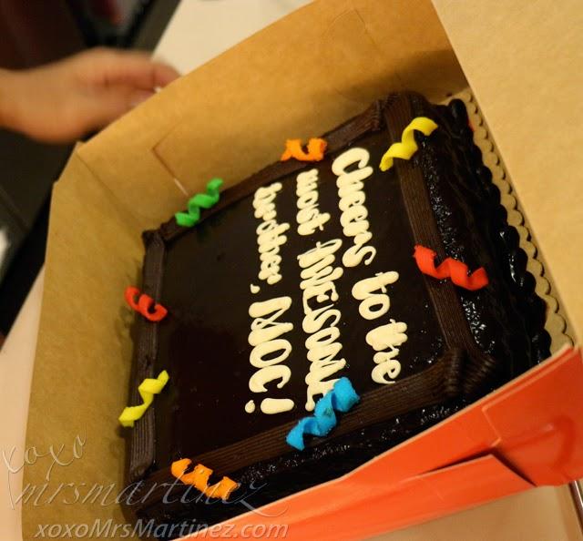 Red Ribbon Dedication Cake Giveaway Xoxo Mrsmartinez Lifestyle