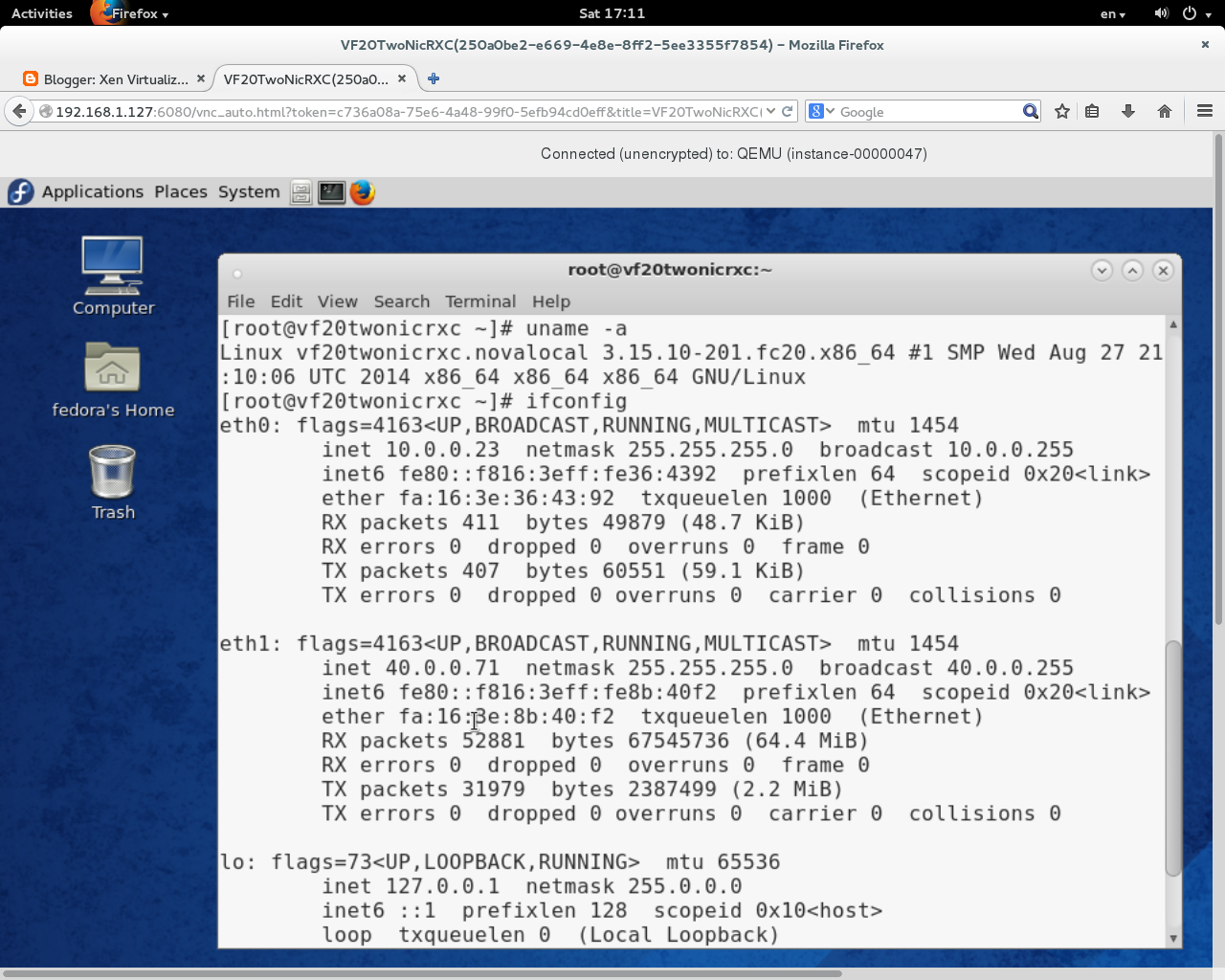 Xen Virtualization on Linux and Solaris: Setup QCOW2 standard CentOS