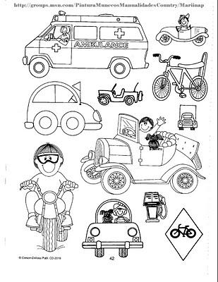 Los Medios De Transporte Para Niños De Transición