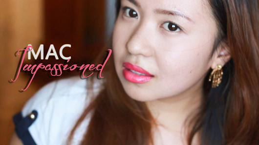 MAC Impassioned Review, Pictures, and Lip Swatch