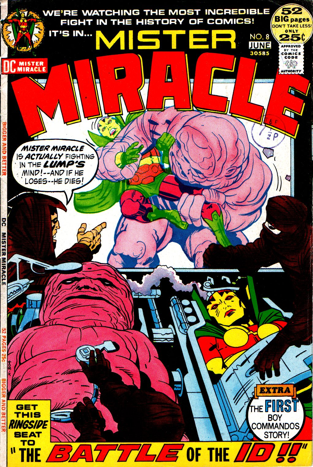 Mister Miracle (1971) issue 8 - Page 1