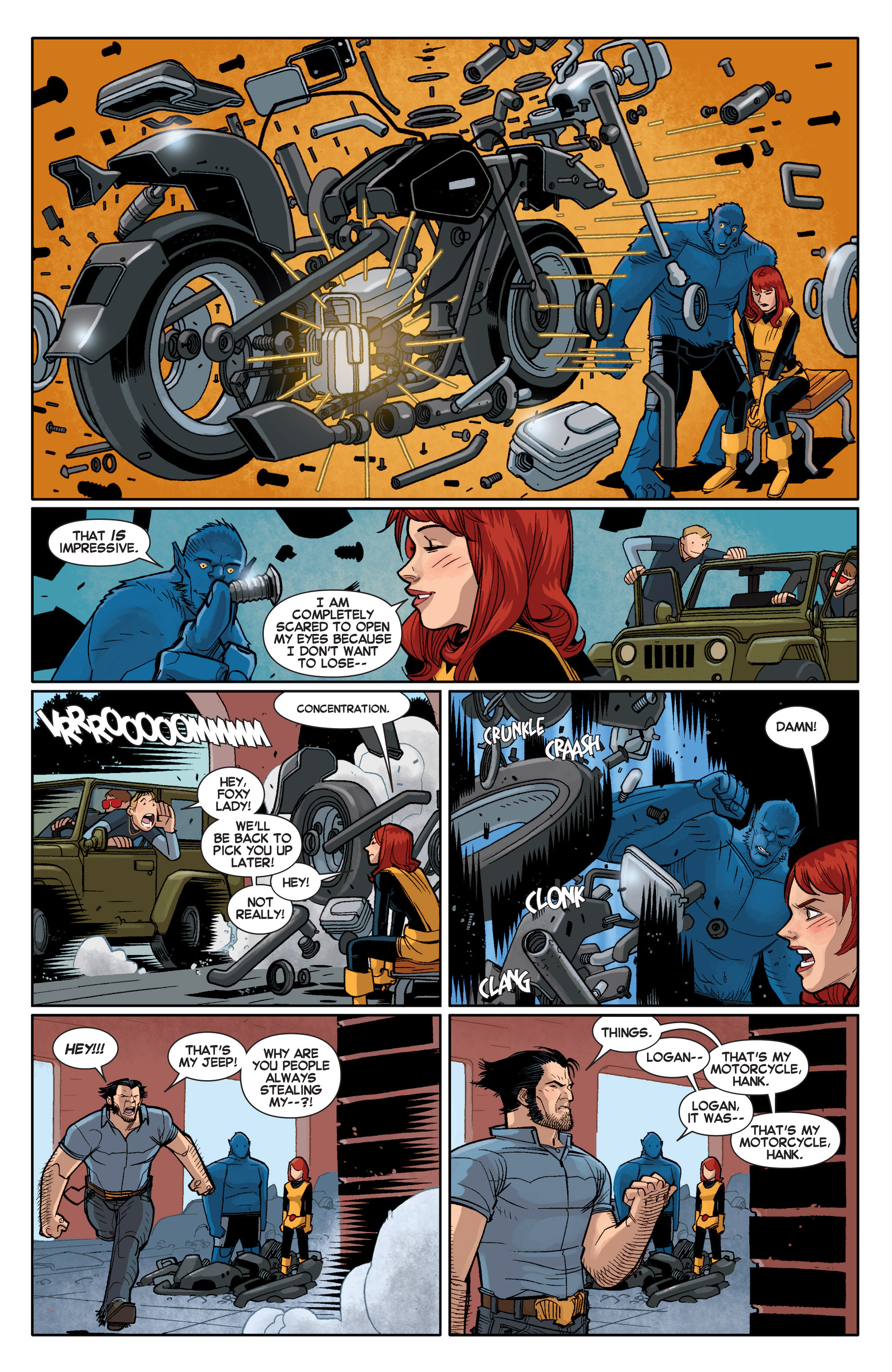 Read online All-New X-Men (2013) comic -  Issue # _Special - Out Of Their Depth - 96