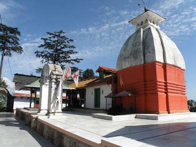 Kyunkleshwar Mandir, Pauri