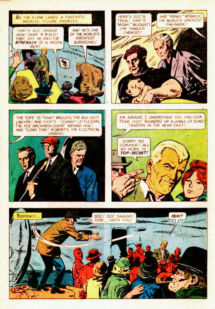 Read online Doc Savage (1966) comic -  Issue # Full - 4