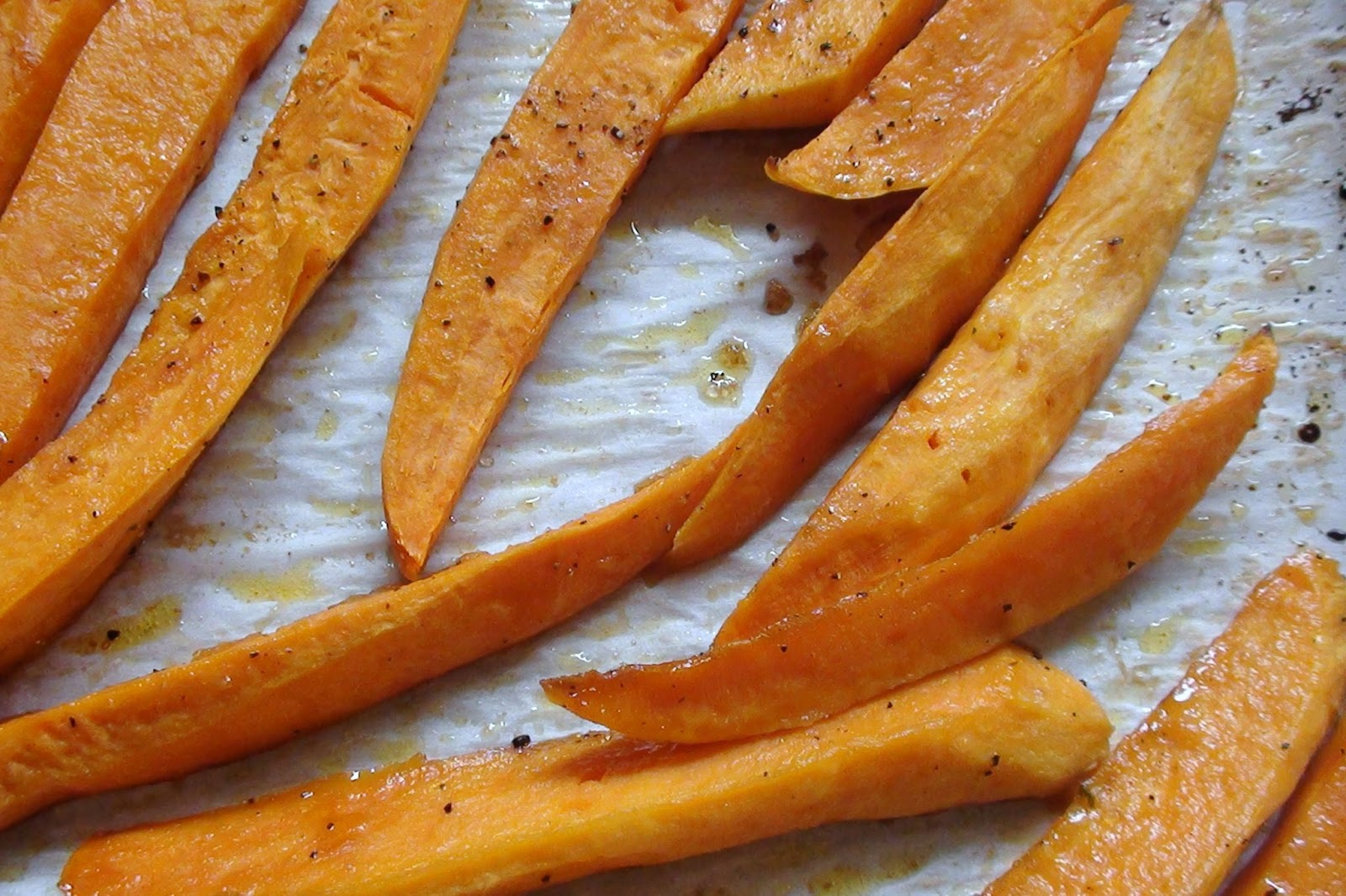 Zsuzsa Is In The Kitchen Oven Roasted Sweet Potato Fries