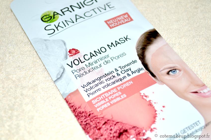 monodose SkinActive Garnier Volcano Mask cotemakeup.blogspot.fr