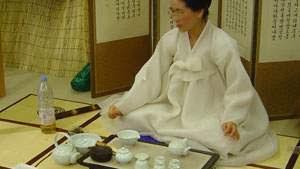 teh hijau, tradisi minum teh