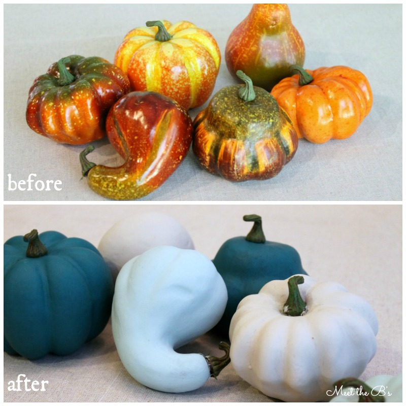 Easy DIY painted pumpkins | Meet the B's