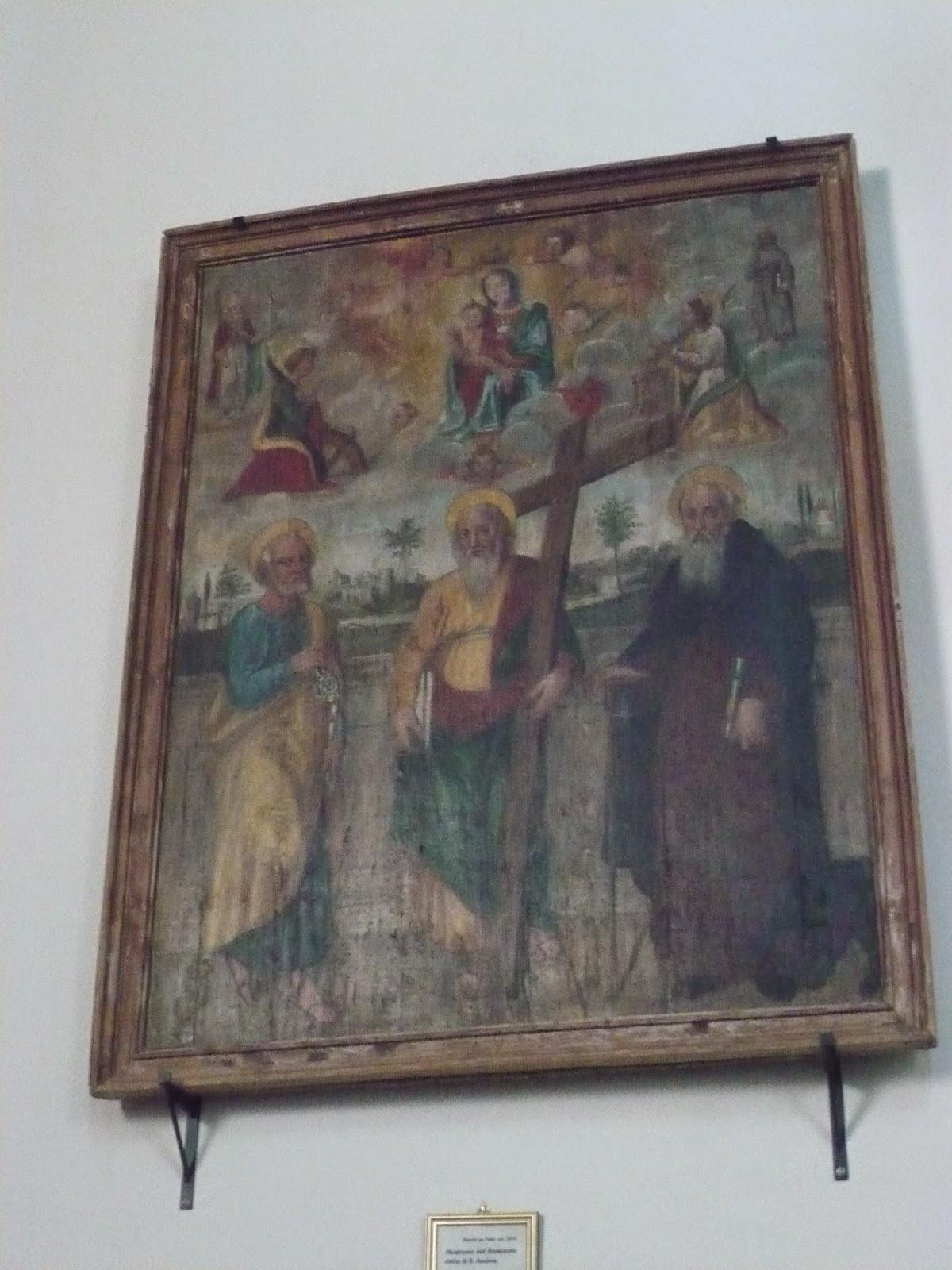 dipinto nel Santuario delle Grazie