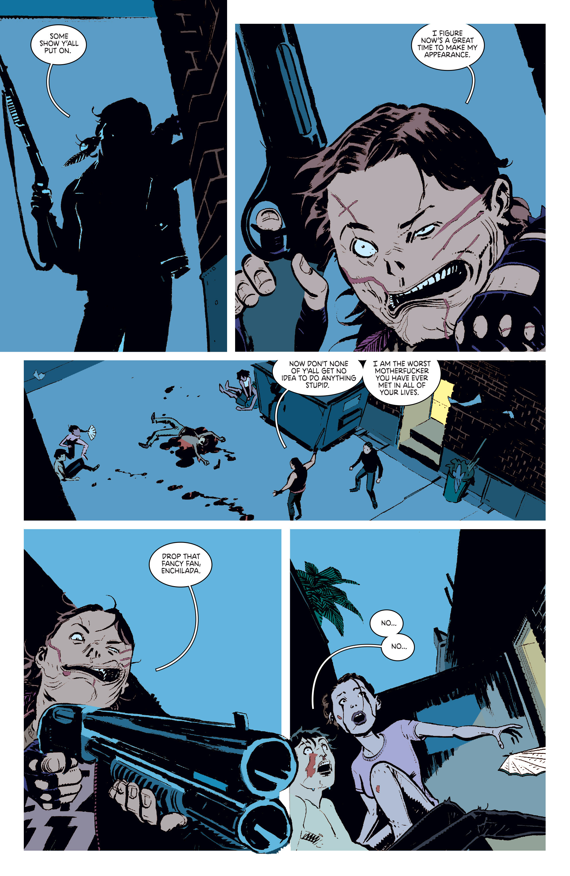 Read online Deadly Class comic -  Issue #6 - 18