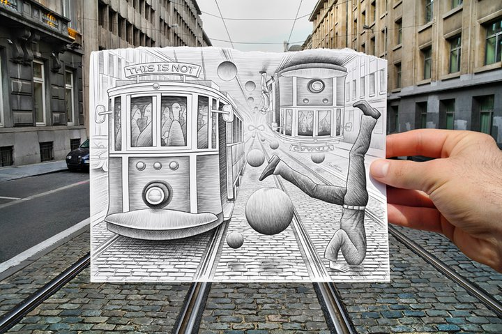 Ben Heine 1983 | Belgian illustrator and photographer