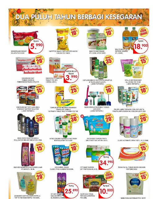 Katalog Brosur Super Indo JaBoDeTaBek dan Palembang edisi 24 Agustus hingga 30 Agustus 2017