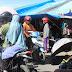 Pejalan Kaki Keluhkan Motor Berlalu Lalang di dalam Pasar Lama