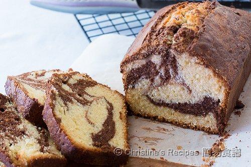 Chocolate Swirl Marble Pound Cake02
