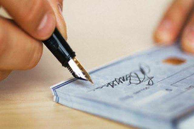 Cheques deben ser soberanos a partir del 4 de julio