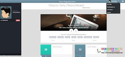 Download Gratis Source Code PHP Aplikasi Perpustakaan