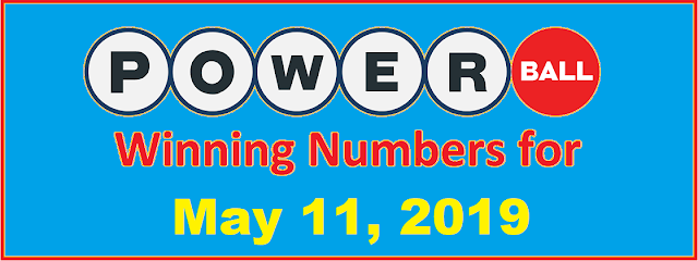 PowerBall Winning Numbers for Saturday, May 11, 2019