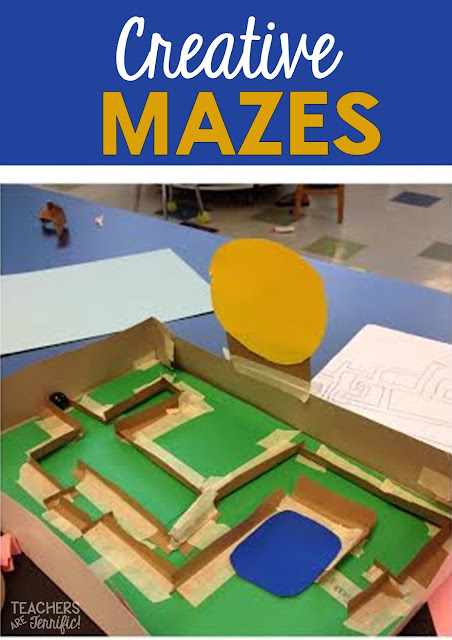 STEM Engineering Challenge: Decorate your maze with a theme and be creative with it!