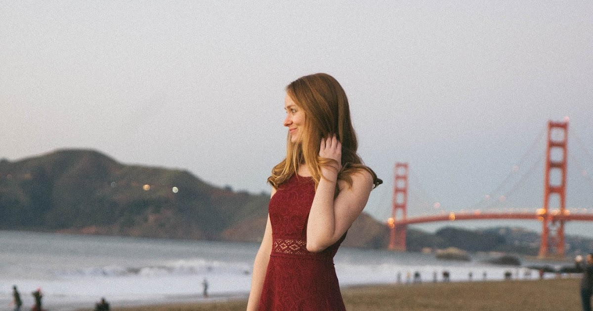 @chowdownusa's cover photo for 'Chow Down USA: Burgundy Maxi Dress at the Golden Gate Bridge + High School Reunion'