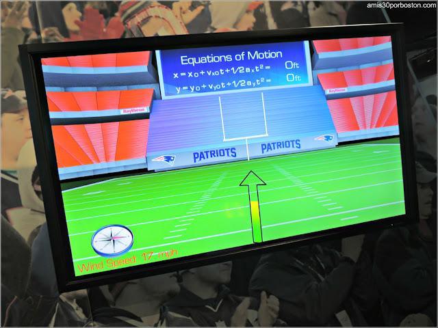 Juegos con Ecuaciones en el Museo de los Patriots