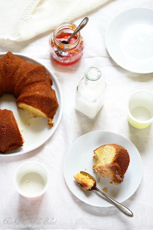 Gâteau aux amandes et à l'orange