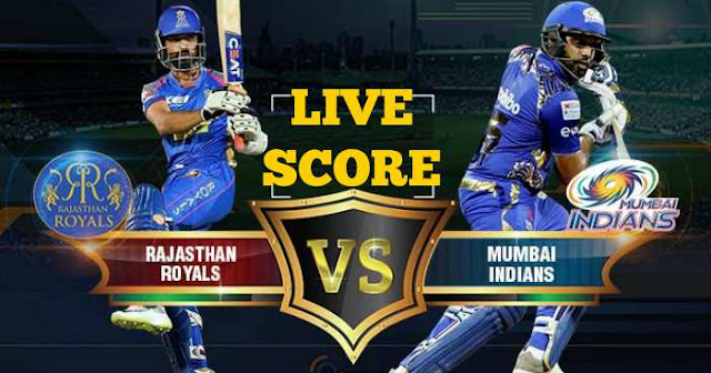 IPL 2018 Match 21 RR vs MI Live Score and Full Scorecard