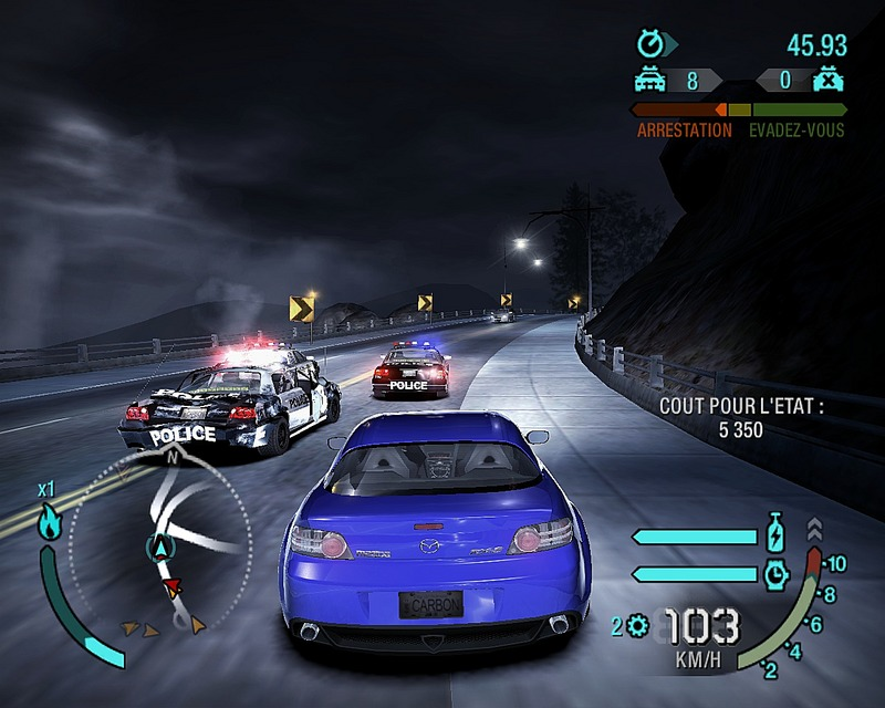 save game nfs carbon pc cheat