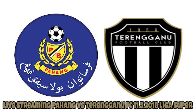 Live Streaming Pahang vs Terengganu FC 11.5.2018 Liga Super